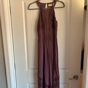 Altered State Plum Maxi Dress